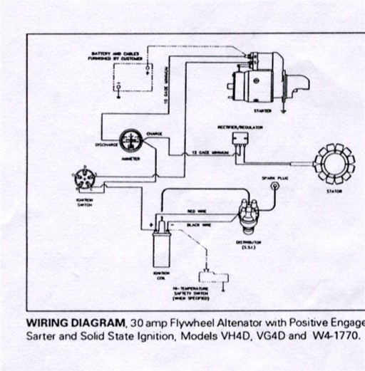 wisonsin motors identifying wisconsin charging sytems the 30a system flywheel s are n1049 n1039 n105a3 n1029 n10110 or n1009 this type of charging system was common in the 80 s and 90 s