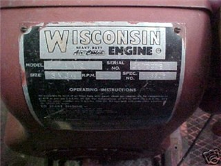 Wisconsin Engines How to Identify a Wisconsin Engine